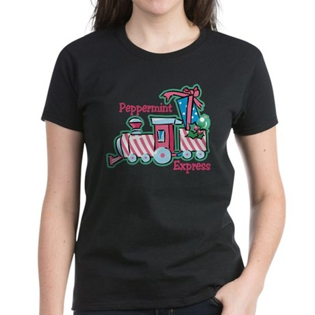 Peppermint Express Women's Dark T-Shirt