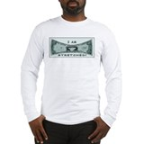 Strethed Dollar Long Sleeve T-Shirt