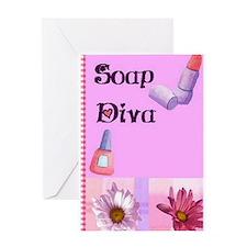 Soap Diva Birthday Card