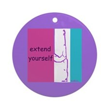 extend yourself Ornament (Round)