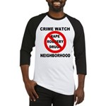Crime Watch Neighborhood Baseball Jersey