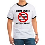 Crime Watch Neighborhood Ringer T
