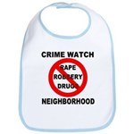 Crime Watch Neighborhood Bib
