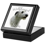 Wolfhound Mom2 Keepsake Box