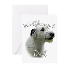Wolfhound Dad2 Greeting Cards (Pk of 10)