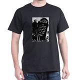 Chaim Dumes Grave T-Shirt with photo on back