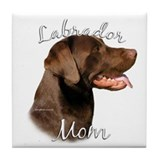 Lab Mom2 Tile Coaster