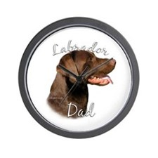 Lab Dad2 Wall Clock