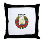 Pinsk, Belarus Throw Pillow