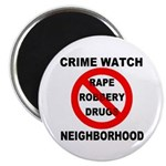 Crime Watch Neighborhood Magnet