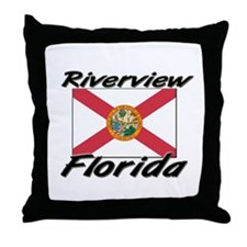 Riverview Florida Throw Pillow