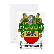 Heffernan Coat of Arms Greeting Cards (Pk of 20)