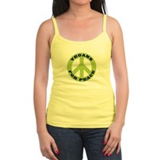 Vegans For Peace Jr. Spaghetti Tank