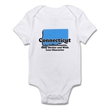 Connecticut Just Like Mass Infant Bodysuit