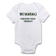 Running: Cheaper Than Therapy Infant Bodysuit