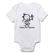 Greek Lizzy - Delta Phi Epsilon Infant Bodysuit