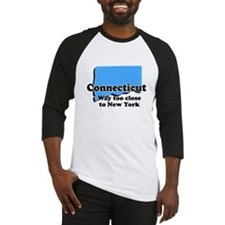 Connecticut, New York Baseball Jersey