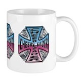 Cheerleader Cross Coffee Mug