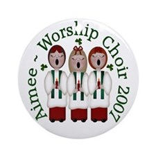 Aimee ~ Worship Choir 2007 Ornament (Round)