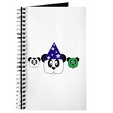 Panda Halloween Journal
