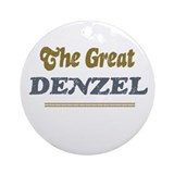 Denzel Ornament (Round)
