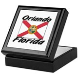 Orlando Florida Keepsake Box