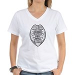 Cooldige Arizona Police Women's V-Neck T-Shirt