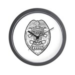 Cooldige Arizona Police Wall Clock