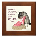 Gerbils Framed Tile