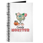 Halloween Candy Monster Journal
