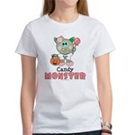 Halloween Candy Monster Women's T-Shirt
