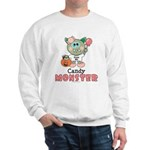 Halloween Candy Monster Sweatshirt