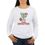 Halloween Candy Monster Long Sleeve T-Shirt