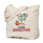 Halloween Candy Monster Trick or Treat Tote Bag