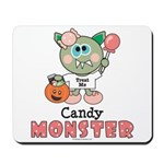 Halloween Candy Monster Mousepad