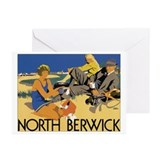 North Berwick Vintage Travel Greeting Cards (Pk o