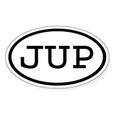 JUP Oval Oval Decal