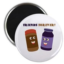 Friends Forever! (PB & J) Magnet
