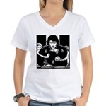 Edgar Allen Poe Women's V-Neck T-Shirt