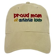 Proud Mom Of Autistic Kids 2 Baseball Cap