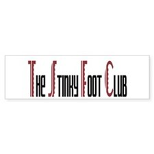 Stinky Foot Club Bumper Bumper Sticker
