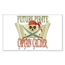 Future Pirates Rectangle Decal
