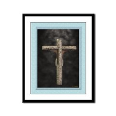 Crucifixion (Back) - 12x9 Framed Print