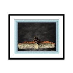 Crucifixion (Top) - 12x9 Framed Print