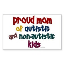 Proud Mom (Autistic & NonAutistic) Decal