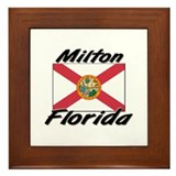 Milton Florida Framed Tile