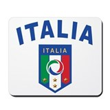 italian pride Mousepad
