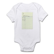 Librarians Are Human Infant Bodysuit