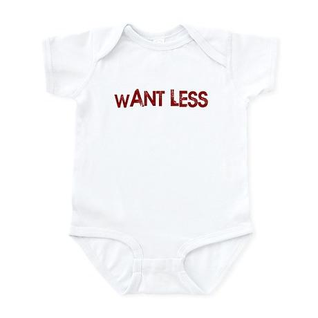 Want Less Infant Bodysuit