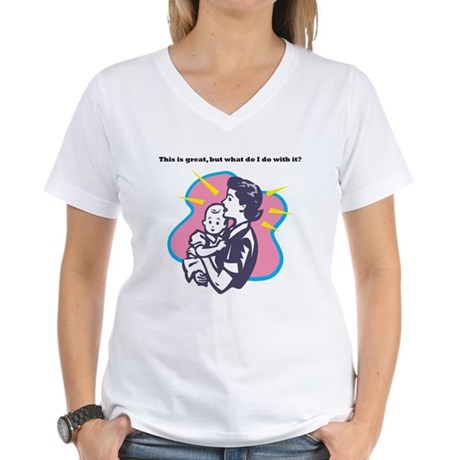 Parenting Women's V-Neck T-Shirt